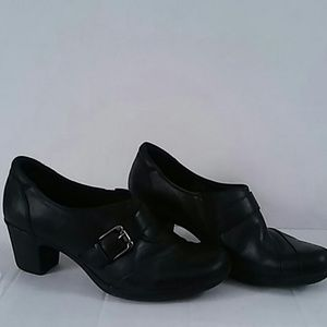 Earth Origins Ankle boot Leather black sz 10 M